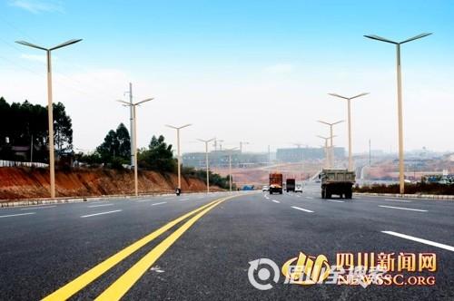 岷东新区 眉山的生活品质之城已形成框架图片