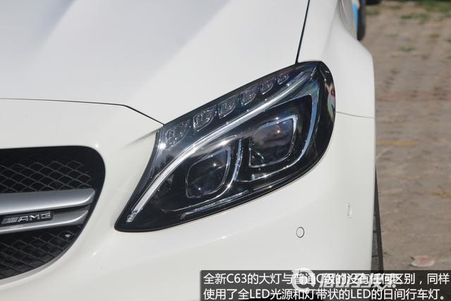 [新车实拍]全新奔驰AMG C63实拍 暴力美学