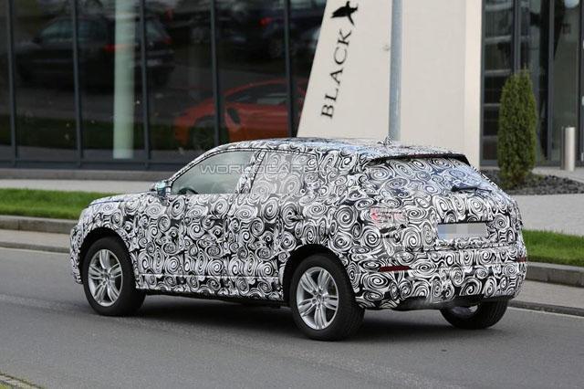 奥迪全新Q2明年登场 最小号奥迪SUV!