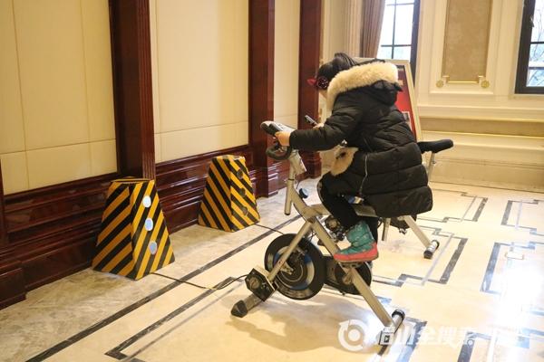 雪花片拼单车图案步骤