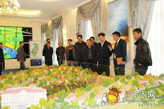 秘书长肖忠良和岷东新区党工委书记、管委会主任白灵贵等领导的陪同图片