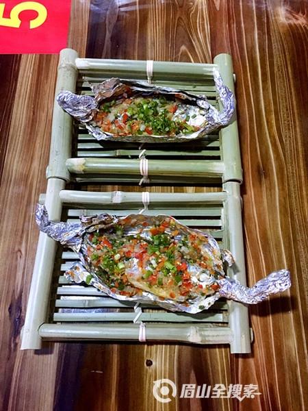 特色碳烤小黄鱼,眉山城内绝此一家,鲜到令人心醉!