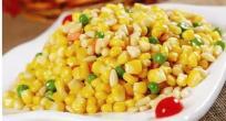 你没见过的玉米新吃法——松仁玉米