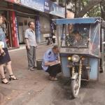 仁寿:专项整治三轮车非法载客 维护城区交通秩序