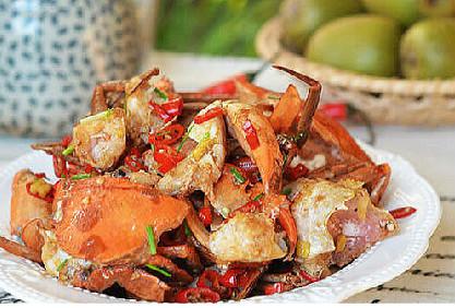 家常海鲜:香辣蟹的做法