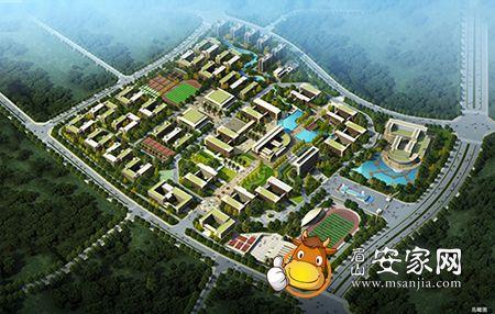 岷东新区大学城效果图.-名校扎推催热岷东高校商圈 学区铺 成投资者图片