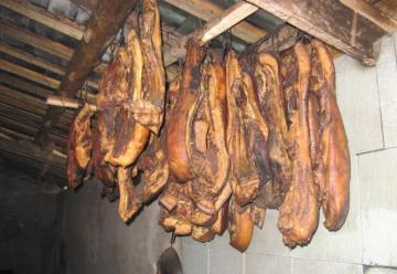瓦屋山老腊肉