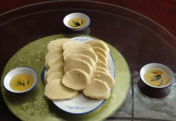 瓦屋山岩蜜玉米粑粑