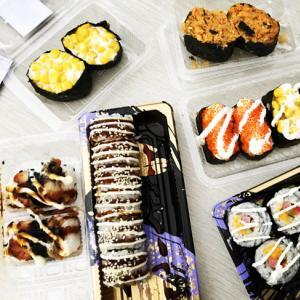 小编肉测!眉山外卖平台上最火的几家寿司!抓紧收藏