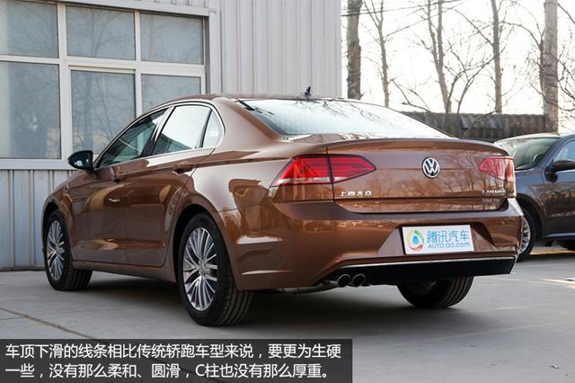 [新车实拍]上海大众凌度实拍 轿跑式设计