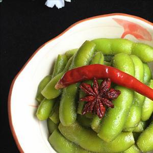 家常菜:卤五香毛豆的做法