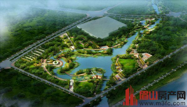 眉山南湖公园