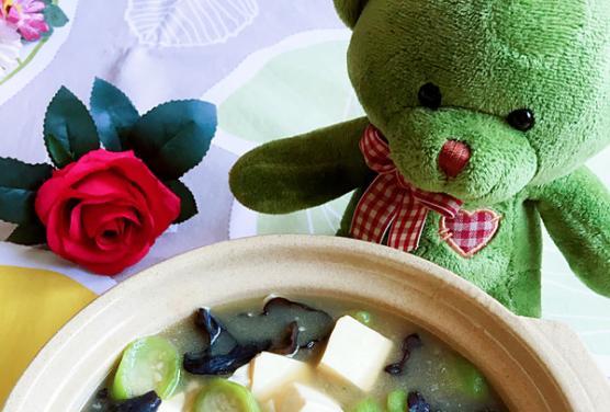 家常菜:丝瓜炖豆腐的做法