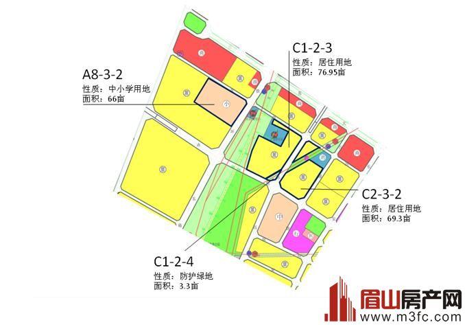 火车站片区规划总图