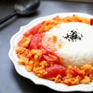 家常饭:西红柿鸡蛋盖饭的做法