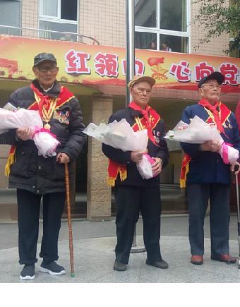 大北街小学建队节主题活动——抗战老兵讲述抗日战争故事