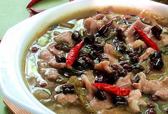 家常菜:香辣酸菜肉片的做法