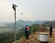 洪雅公司:油茶园通了动力电