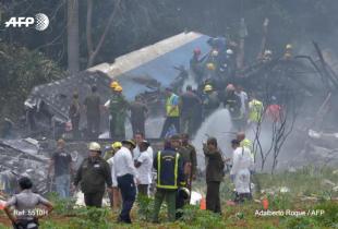 古巴一客机坠毁 已致超百人死亡