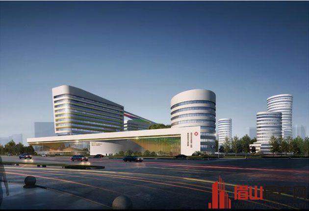 华西第二医院眉山市妇女儿童医院效果图