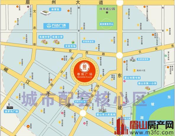 春煕广场区位图