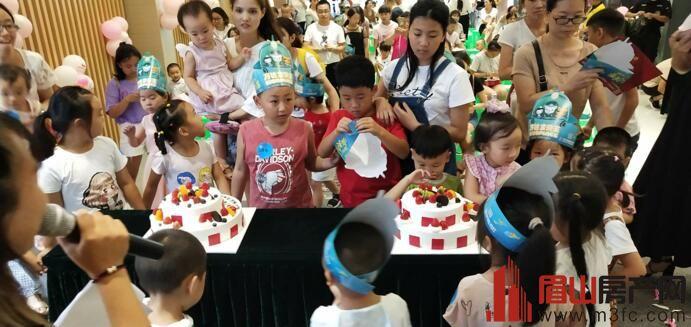 春煕广场为小朋友举办生日宴