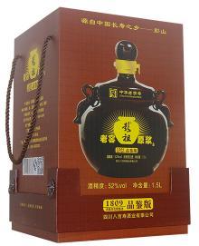 52%vol  1.5L×2彭祖老窖原漿