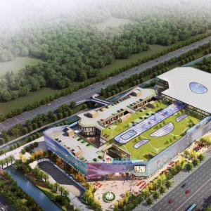 金马国际商贸城:主体即将竣工 招商全面启动