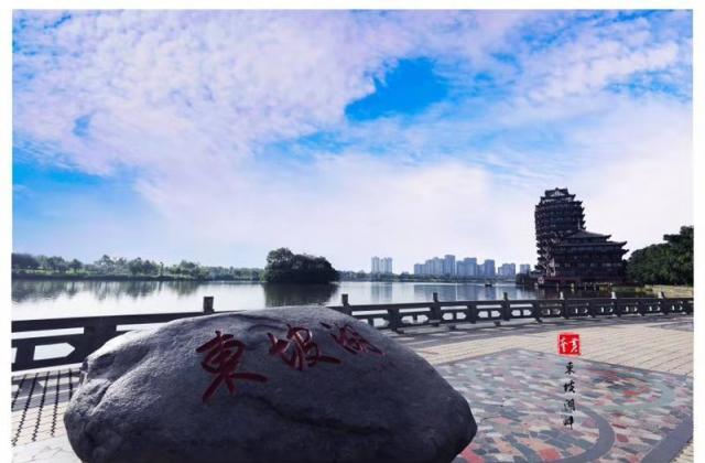 黄奎——《东坡湖畔》 【摄影师每日一图赞眉山】