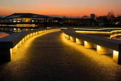 《夕阳红》《文化村彩桥》蹇蓉【摄影师每日一图赞眉山】